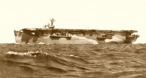 HMS Hunter sepia